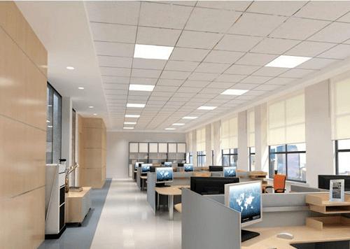 LED paneel verlichting serie Schelde  op kantoor