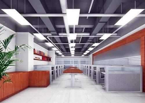 LED paneel verlichting serie Schelde in restaurant