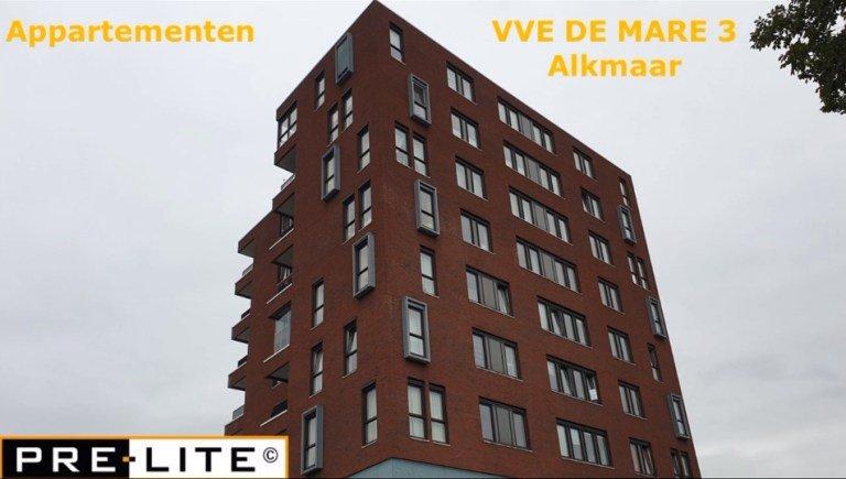 Project VVE DE Mare 3 te Alkmaar verlichting vervangen