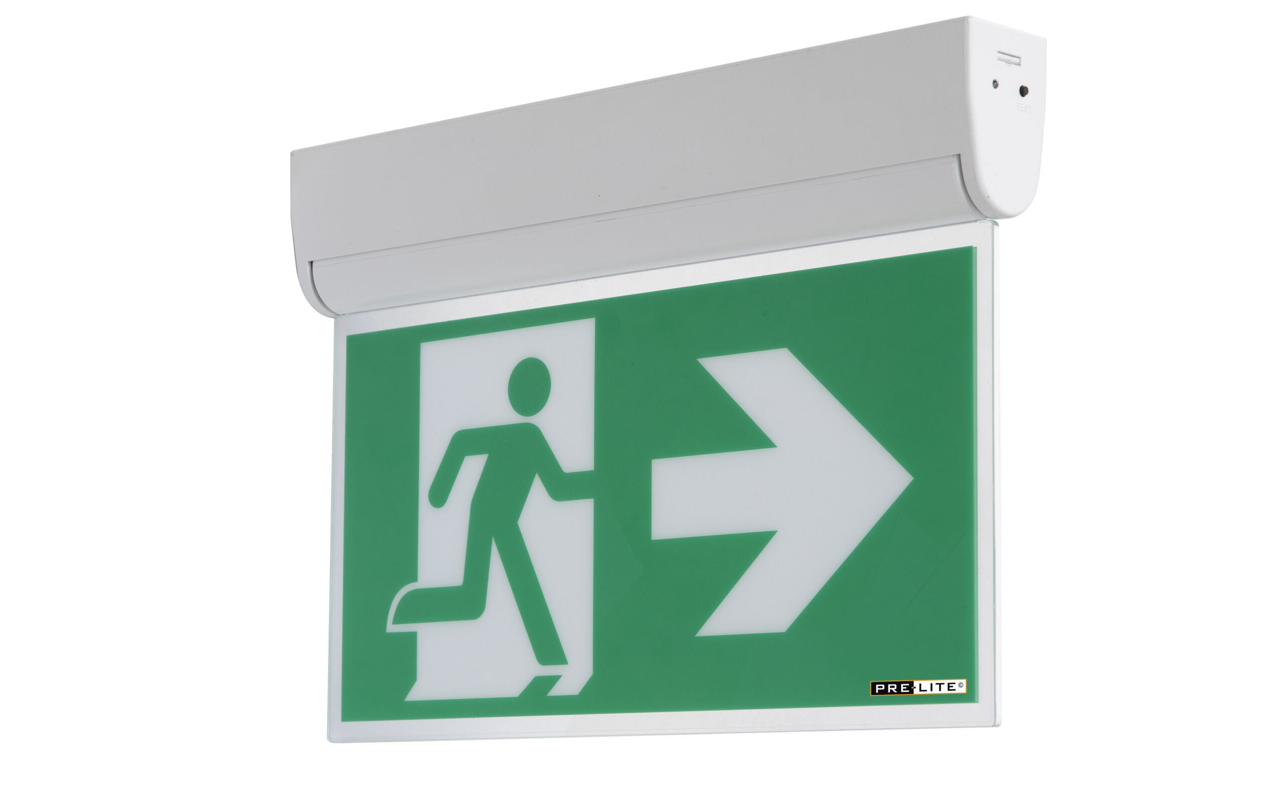 LED kantelbare noodverlichtingsarmatuur Dommel  rechts