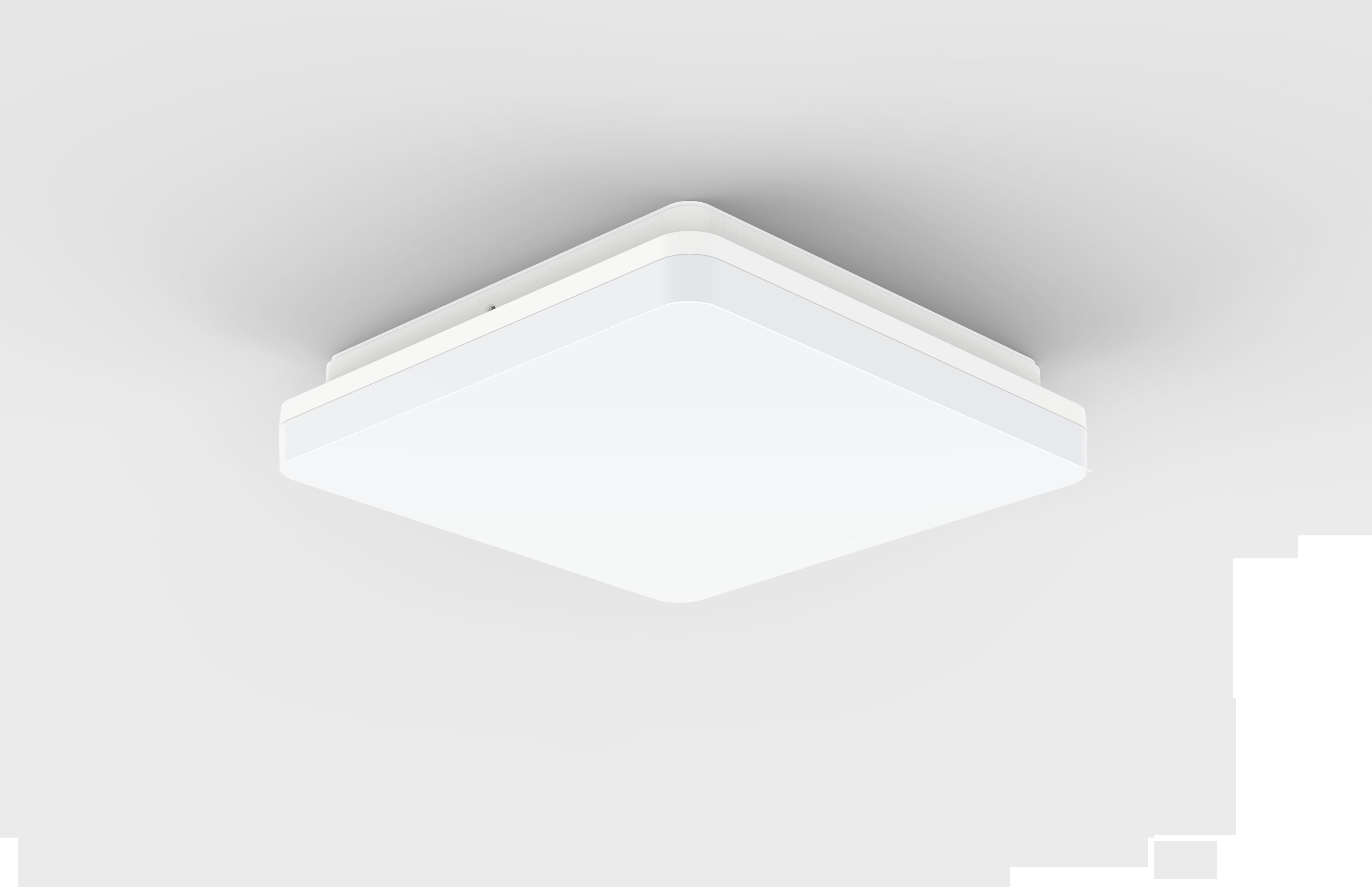 LED plafond-/wandverlichting Rijn Vierkant