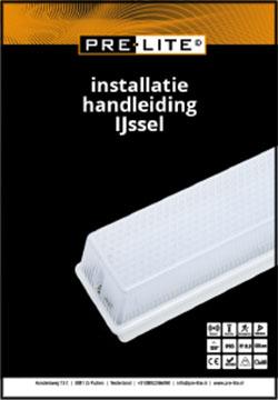 Download installatie handleiding IJssel