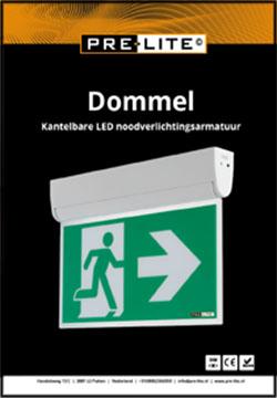 Download specificaties LED noodverlichting armatuur Dommel