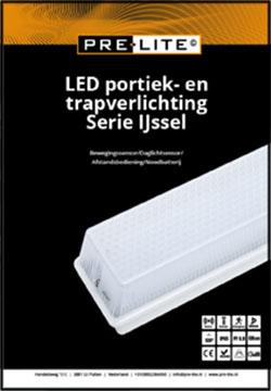 Download specificaties LED portiek en trapverlichting serie IJssel