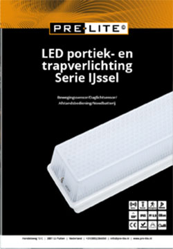 Download specificaties LED portiek en trapverlichting serie IJssel