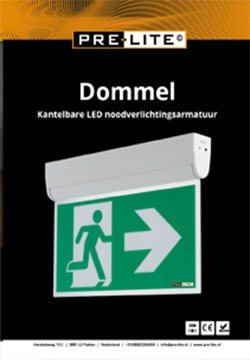 Download specificaties LED noodverlichting armatuur Dommel
